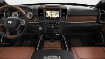 2019 Dodge Ram 1500 Longhorn Black New Saddle (kleuren)