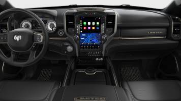 2019 Dodge Ram 1500 Limited Black (kleuren)